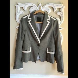 NWOT The Limited Blazer Gray